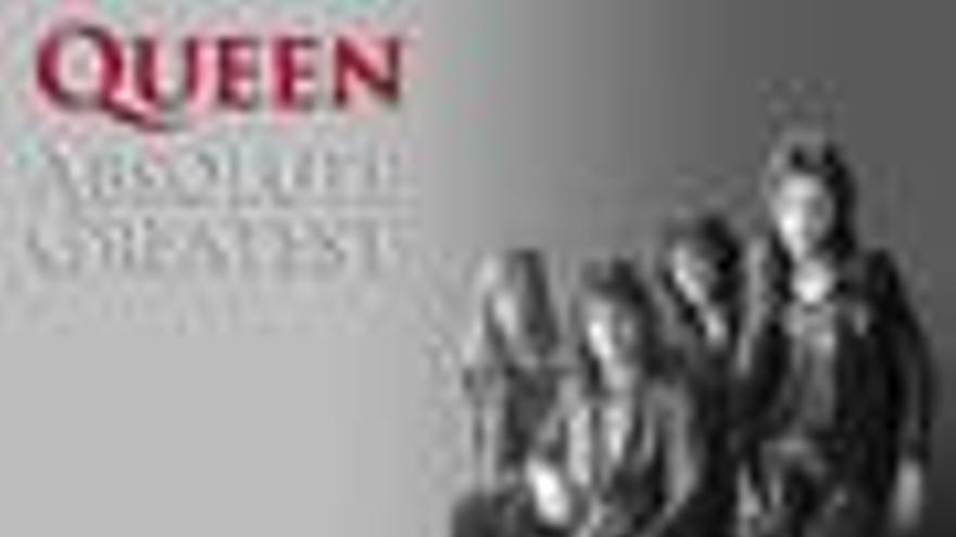 Portada del disco 'Absolute Greatest' de Queen