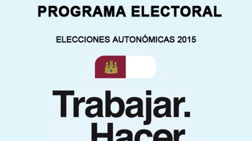 Portada del programa electoral del PP de Castilla-La Mancha