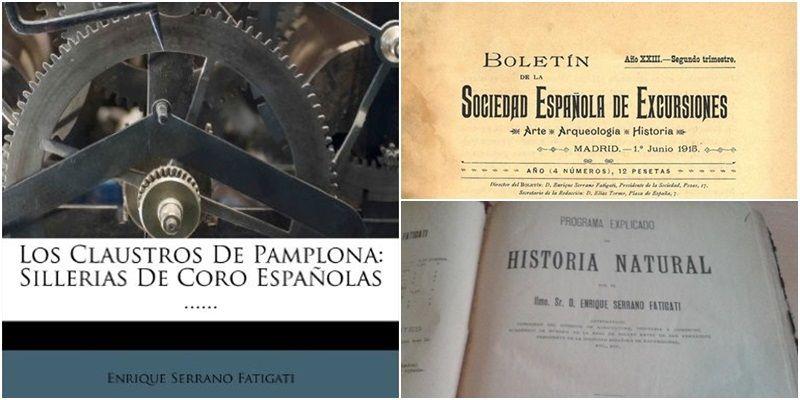 Algunos títulos que publicó Fatigati | CARPETANIA