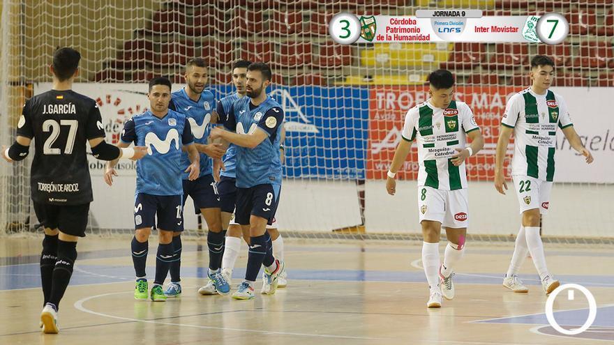 Partido Córdoba Futsal - Inter Movistar en Vistalegre