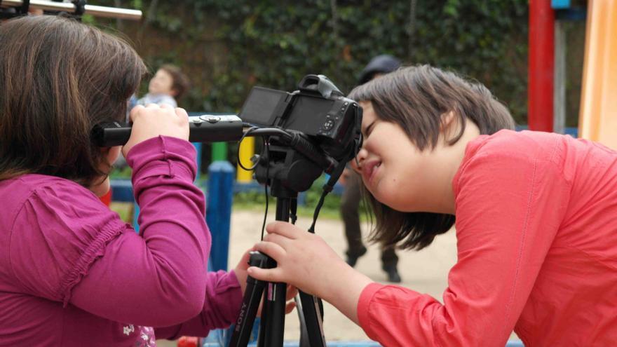 Un fotograma del vídeo de la Asociación de Padres de Personas con Autismo.