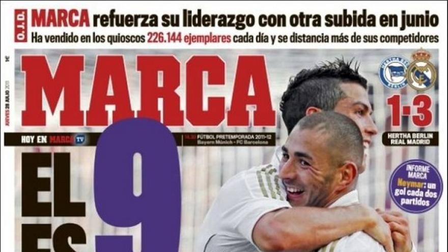 De las portadas del día (28/07/2011) #13