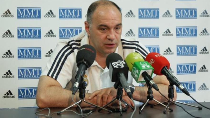 Pablo Laso deja entrever que la decisión de los árbitros fue voluntaria.