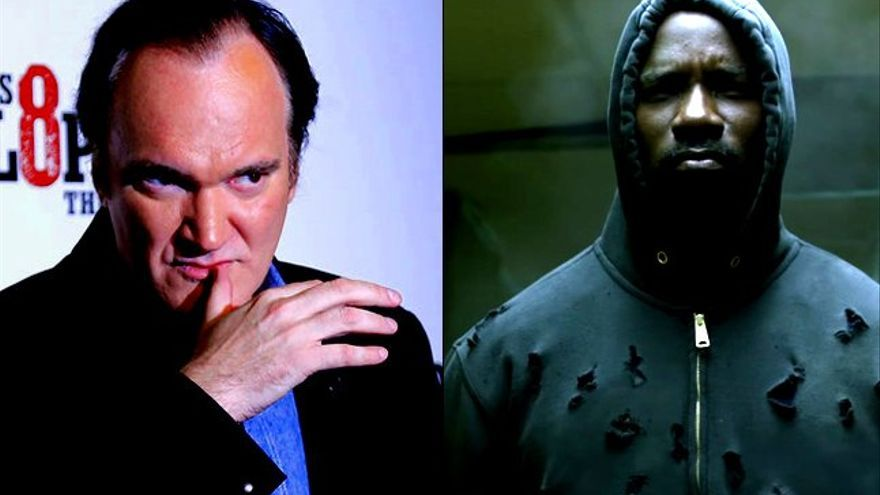 Tarantino revela que pudo dirigir 'Luke Cage' y explica sus reticencias a la serie