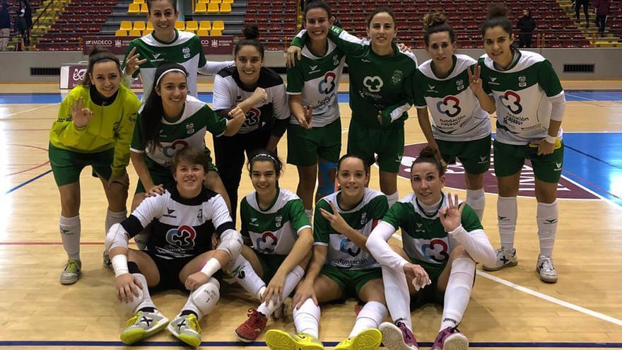 Las jugadoras del Deportivo Córdoba celebran el triunfo ante el Loja | DEPORTIVO CÓRDOBA