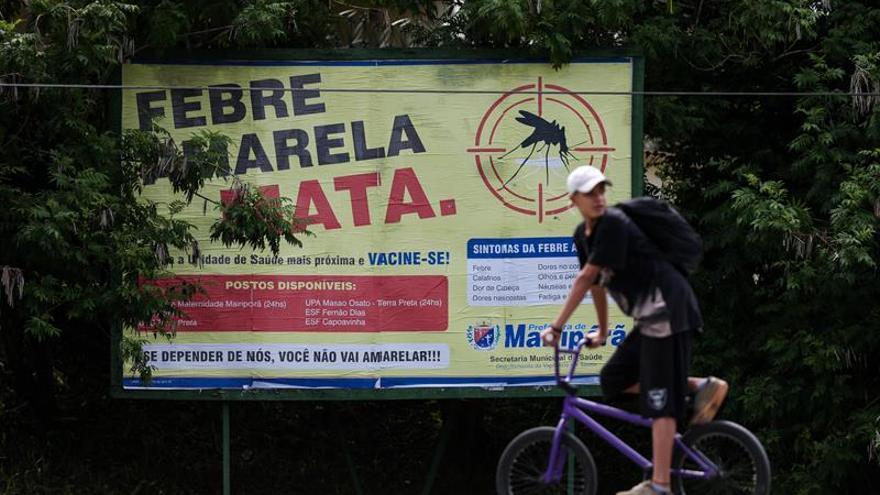 Brasil extiende su recomendación de vacuna contra la fiebre amarilla a todo el país