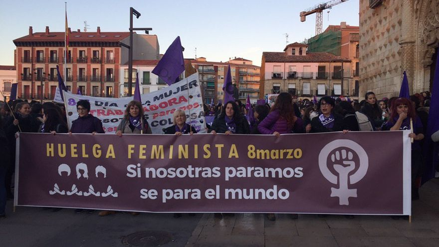 Manifestación feminista en Guadalajara