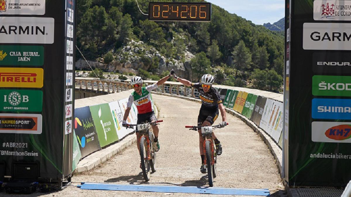 Vencedores de la segunda etapa de la Andalucía Bike Race