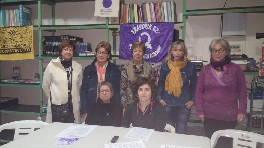 Grupos de mujeres de la margen izquierda y zona minera presentan la 15ª marcha contra la violencia sexista.
