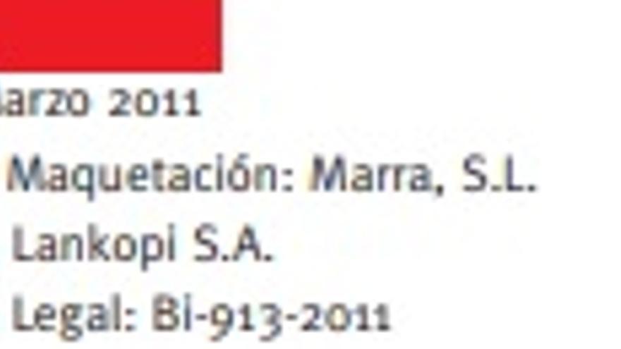 Documento de la ONG registrado en 2011