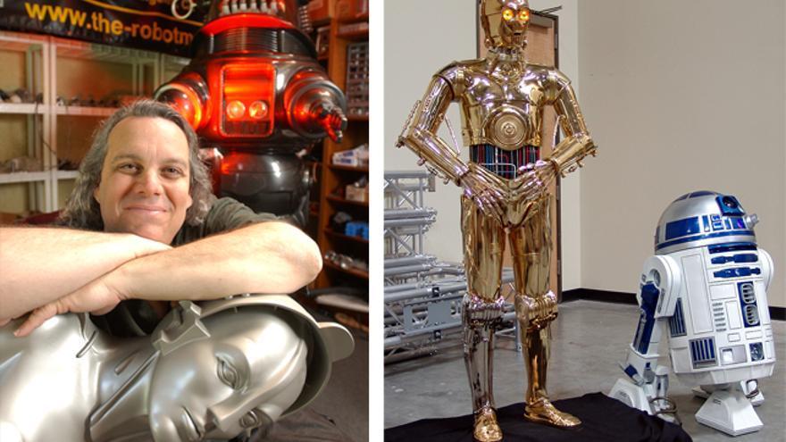 María, la robot femenina de 'Metrópolis', guarda cierto parecido con C-3PO
