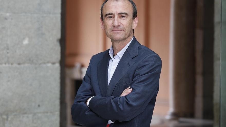 Francisco Lobo, en su foto oficial como alto cargo de la Comunidad de Madrid.