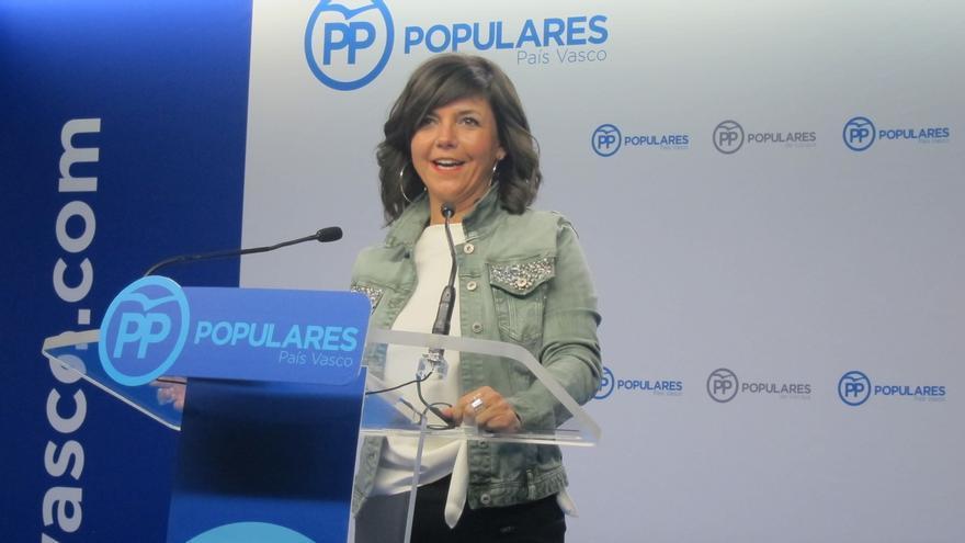 """PP cree """"una tomadura de pelo postergar"""" el debate del nuevo estatus, cuestión que """"marca todos los acuerdos"""" con PNV"""