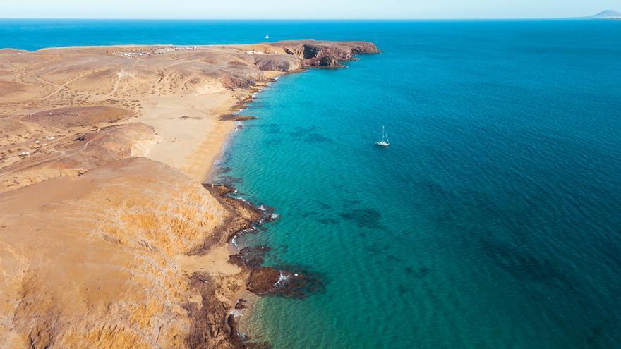 La costa sur de Lanzarote está cuajada de impresionantes playas. Marco Verch