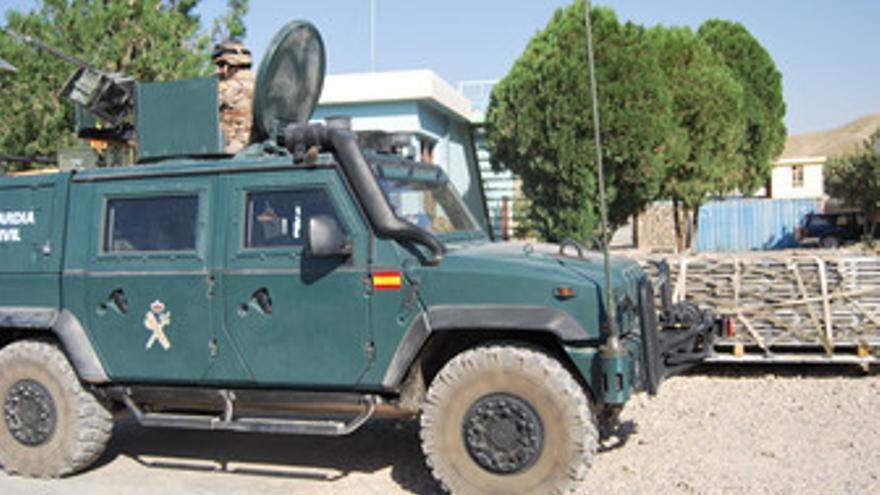 Contingente de la guardia civil en Afganistán
