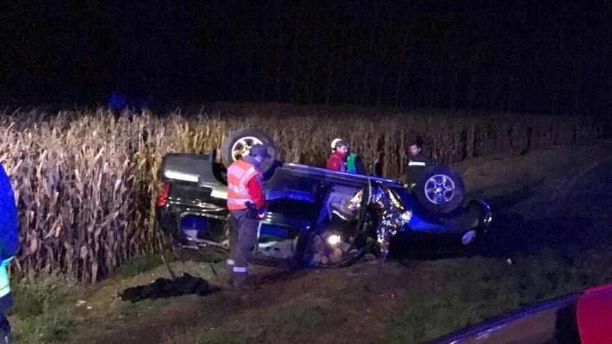 Fallece un vecino de Peralta en un accidente en la carretera NA-115