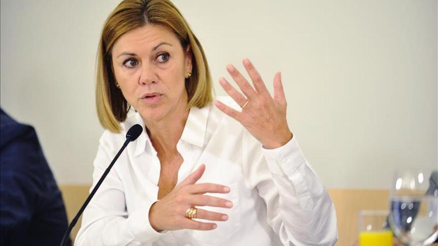 Cospedal aboga por acuerdo de partidos para trato penal en violencia género