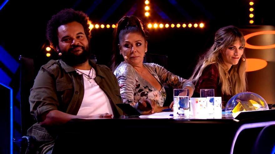 Carlos Jean, Isabel Pantoja y Edurne en 'Idol Kids'