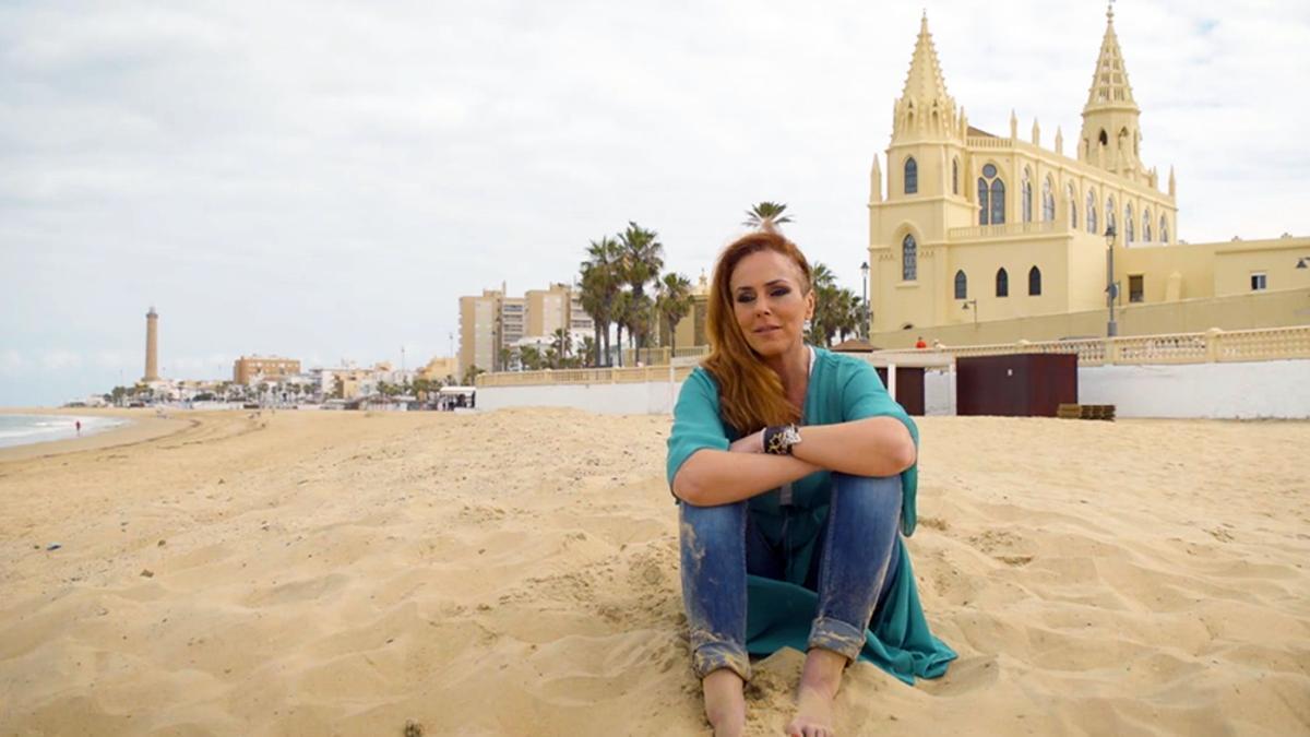 Rocío Carrasco en una imagen del tráiler de 'En el nombre de Rocío'