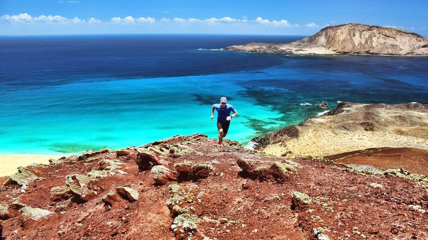 Trail running en La Graciosa