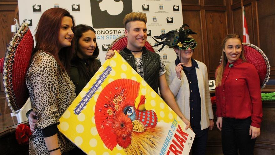 Un total de 26 comparsas con 2.390 participantes participarán en el Carnaval de San Sebastián