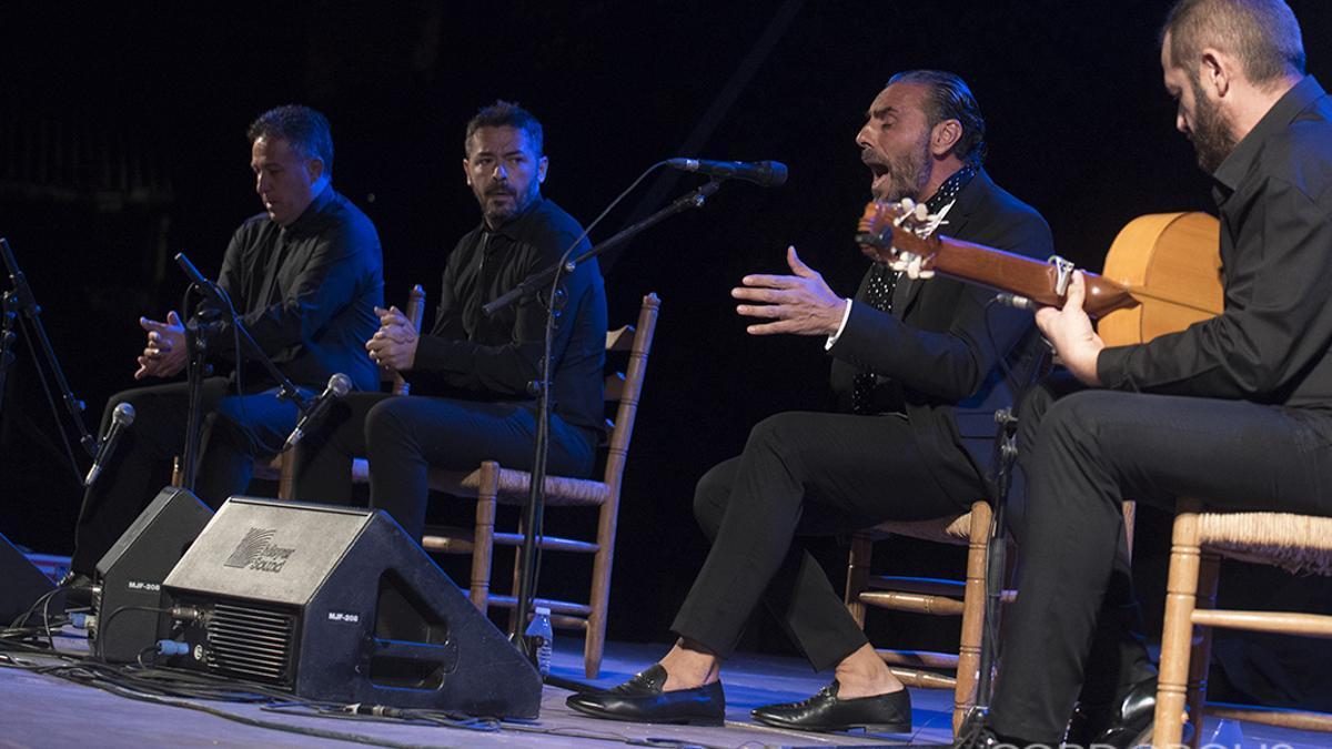 Pedro El Granaíno en las Noches Flamencas del Alcázar