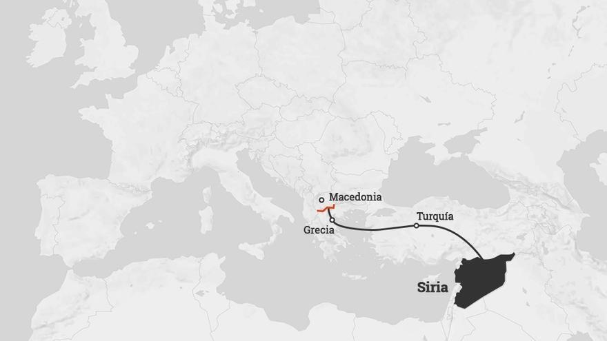 Ruta refugiados
