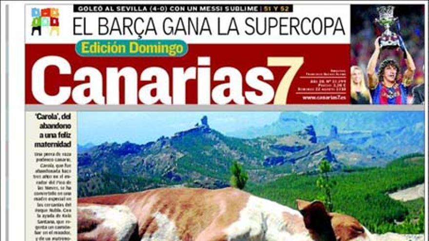 De las portadas del día (22/08/2010) #2