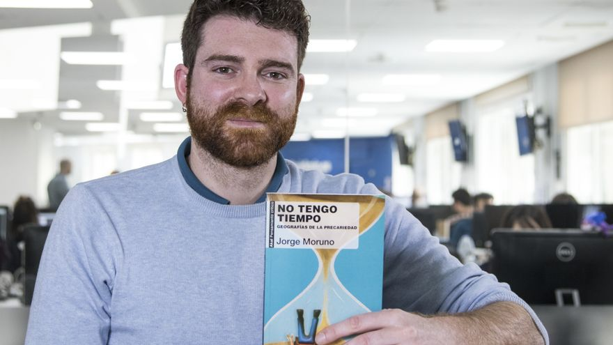 """Jorge Moruno presenta su nuevo libro """"No tengo tiempo"""""""