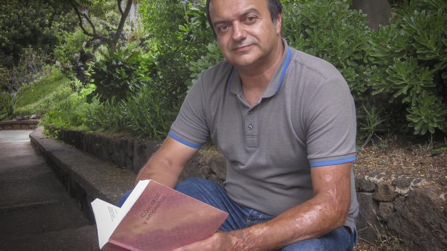 Antonio Javier González Díaz ha realizado un riguroso estudio sobre el queso palmero Foto: JAVIER GIL LEÓN