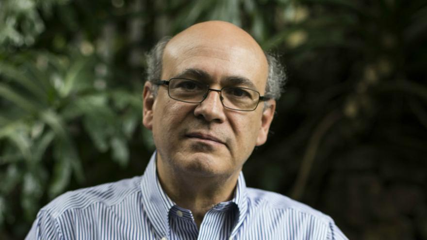 El director del diario digital nicaragüense Confidencial, Carlos Fernando Chamorro, denuncia la represión contra la prensa