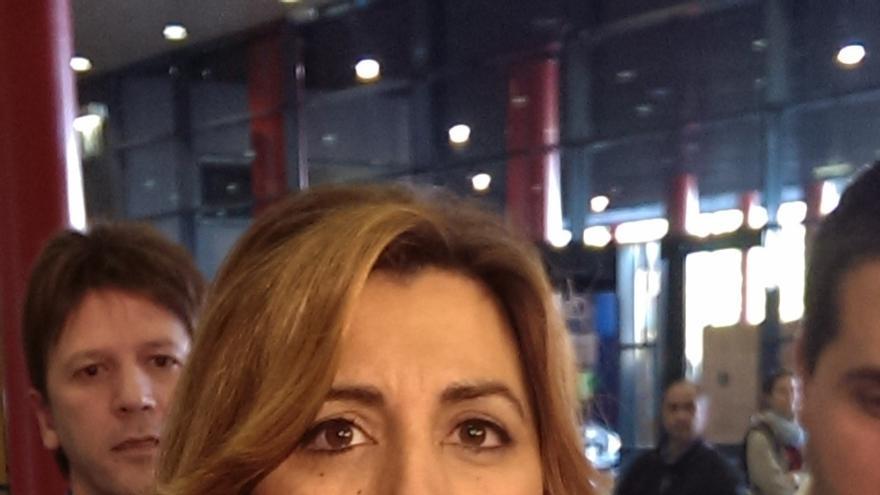 """Susana Díaz hace un llamamiento a la unidad y dice que """"el terror no le gana a la democracia y a la convivencia"""""""