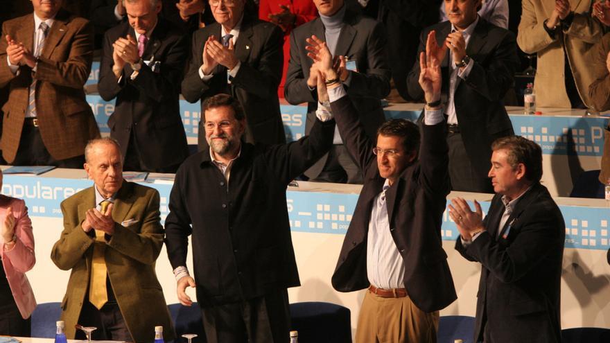 Feijóo es proclamado líder del PPdeG en enero de 2006