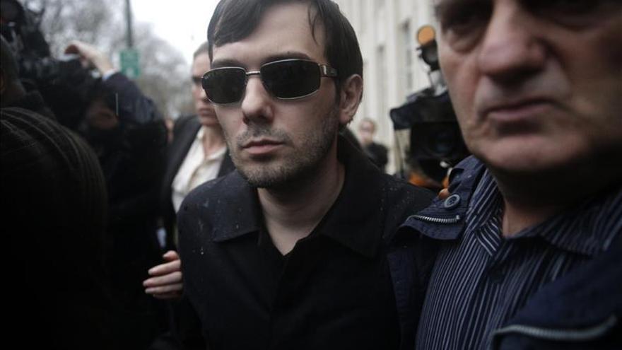 Detenido en Nueva York un polémico empresario farmacéutico acusado de fraude