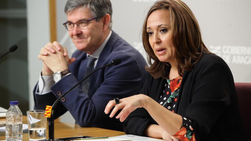 La consejera de Educación y Cultura del Gobierno de Aragón, Mayte Pérez.