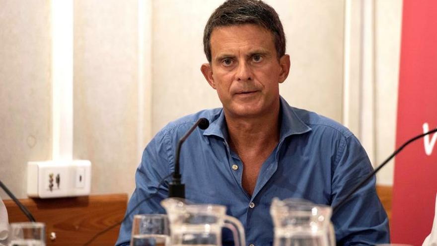 El ex primer ministro francés y concejal del Ayuntamiento de Barcelona, Manuel Valls.