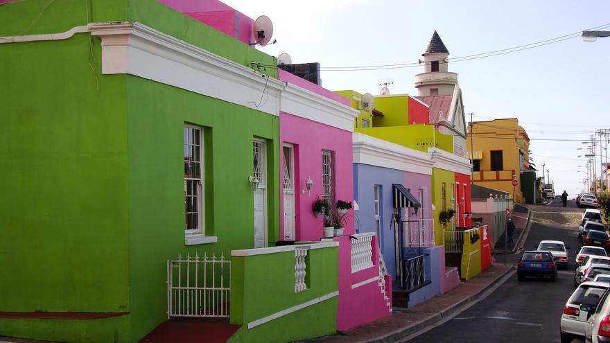 Calle de Bo-Kaap, el barrio malayo de Ciudad del Cabo. Warren Rohner