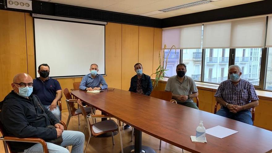 Reunión de CCOO con el director general de Trabajo