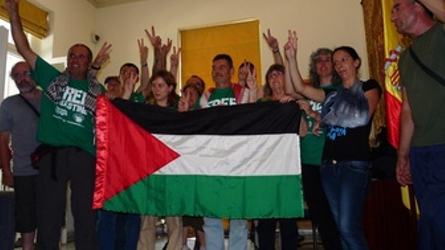 Activistas Españoles De Rumbo A Gaza