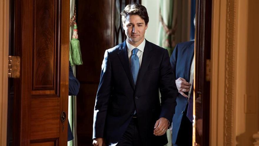 Trudeau: La relación entre la UE y Canadá se centra en valores comunes