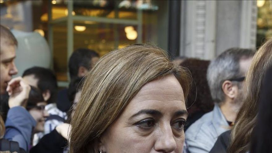 Chacón: Me da pena que Mas ponga en ridículo la Presidencia de la Generalitat