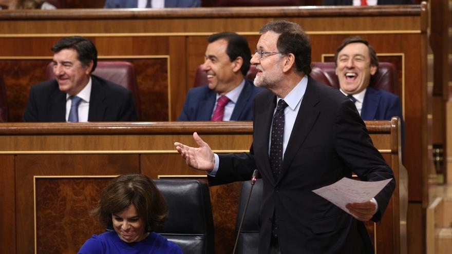 """Rajoy pide a los ciudadanos que estén """"tranquilos"""" porque el Gobierno """"sabe lo que tiene que hacer"""" con Cataluña"""