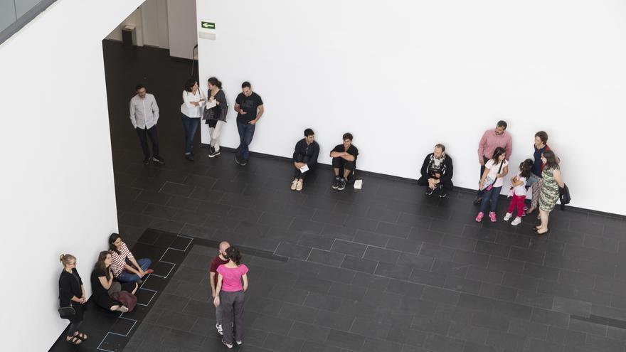El Centro de Arte Dos de Mayo que acoge 'Una exposición coreografiada'