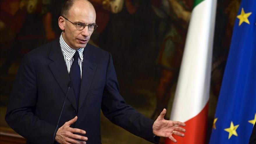 Un 56  por ciento de los italianos aprueba al nuevo Ejecutivo de Enrico Letta