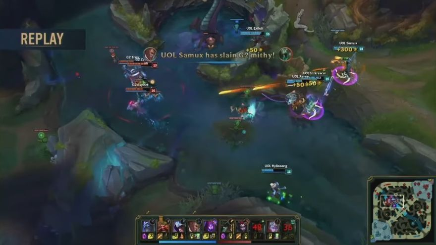 Batalla de League of Legends