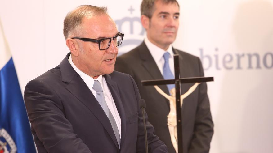 El consejero de Sanidad del Gobierno de Canarias, José Manuel Baltar.