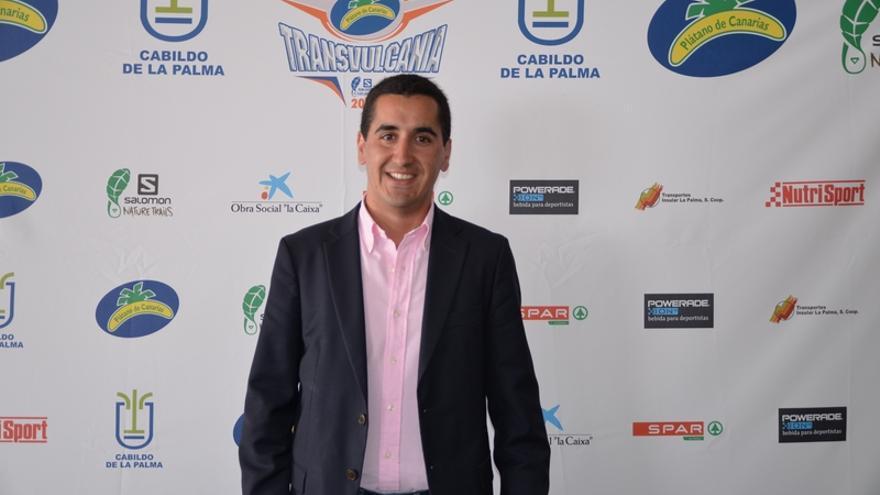 En la imagen, Broja Pérez Sicilia, alcalde de Breña Baja.