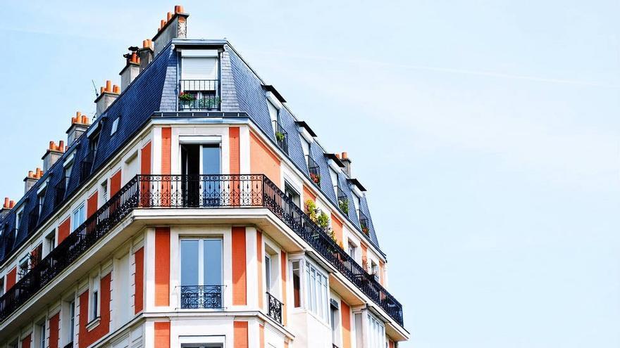 Imagen de un edificio de viviendas