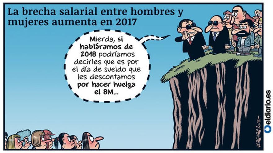 La brecha aumenta (08/01/2019), por Bernardo Vergara