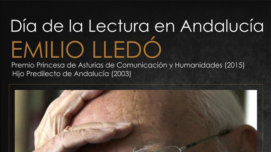 La Junta dedica el 'Día de la lectura' en Andalucía al filósofo Emilio LLedó